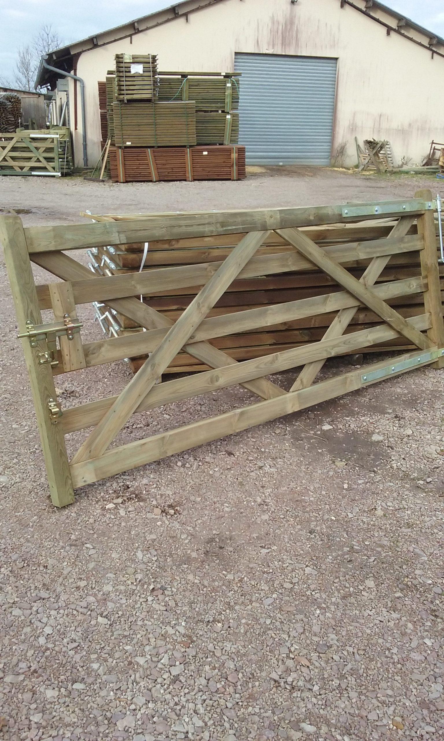 Barri re bois lg qualitybois - Fabriquer une barriere en bois ...